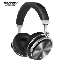 New Bluedio T4 Active Noise Cancelling Bluetooth 4 2 Headphones Wireless Headset Portable With Microphone For