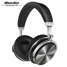 Bluedio T4 Headphone Bluetooth Headphones Wireless Wire Earphone Portable Microphone Bluetooth Music Headset