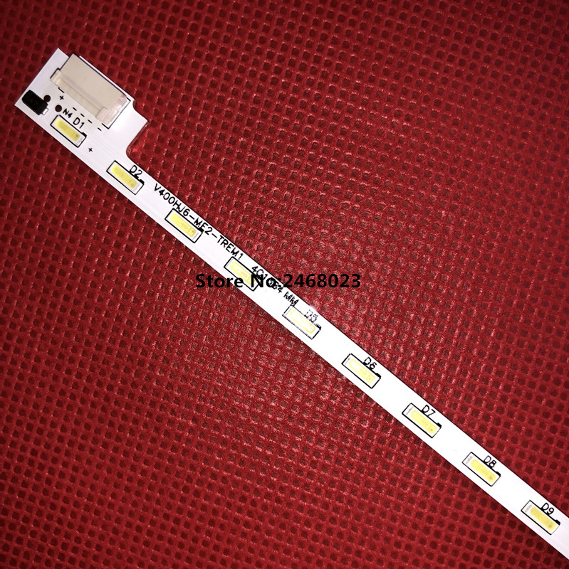 PARA LCD-40V3A M00078 N31A51P0A N31A51POA 49 V400HJ6-LE8 New LED backlight V400HJ6-ME2-TREM1 1 peça = cm (490mm) 52LED