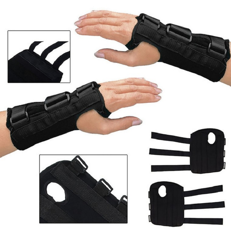 Carpal Medical Wrist Support Sprain Forearm Splint Adjustable Breathable Wrist Support Brace Medical Arm Wrist Splint #87823 цена