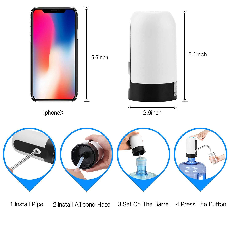 Portable 5 gallon water dispenser