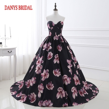 Floral Long Evening Dresses Party Sweetheart Beautiful Women Prom Formal Evening Gowns Dresses Wear robe de soiree longue