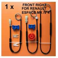 Для RENAULT ESPACE Mk IV 4 стеклоподъемник Ремонтный комплект передний правый 2002-2006