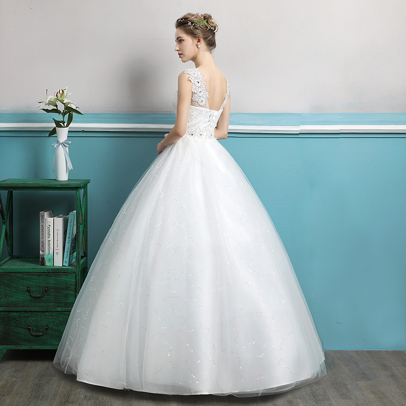 LAMYA Discount Real Photo Princess Wedding Dresses Lace Simple ...