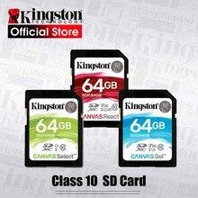 Kingston, 128 ГБ, sd-карта, 16 ГБ, карта памяти, класс 10, 64 ГБ, Карта памяти SDHC, SDXC, USH-I, HD видео, 32 ГБ, карта SD для камеры, 256 ГБ