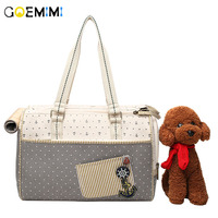 Brand New Pet Dog Canvas Carrier Portable Sailor pattern Puppy Outdoor Bag Top Quality Breathable Handbags For Cat