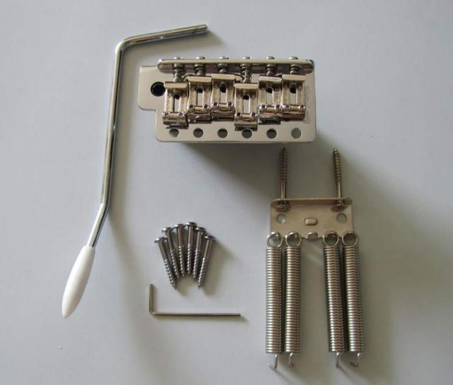 wilkinson 6 hole vintage strat tremolo trem bridge w steel block