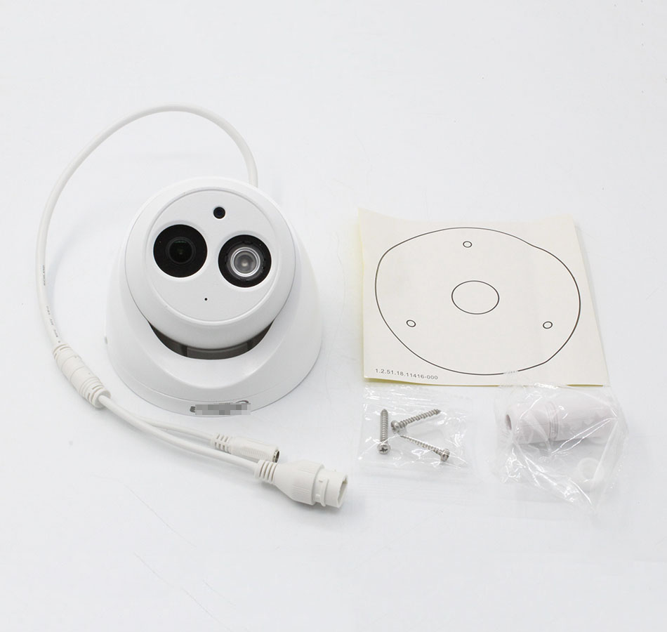 Image 5 - 4MP 6MP POE IP Camera IPC HDW4433C A IPC HDW4631C A IR 30m Built in Mic H.265 Network Camera HDW4433C A HDW4631C A Web Camera-in Surveillance Cameras from Security & Protection