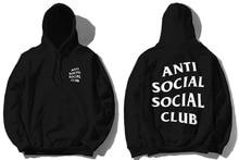 Hoodies Men 4XL Boy London Anti Social Social Club Hoodie Kanye West Yeezy Hoodie&Sweatshirt Brand Clothing High Quality ASSC