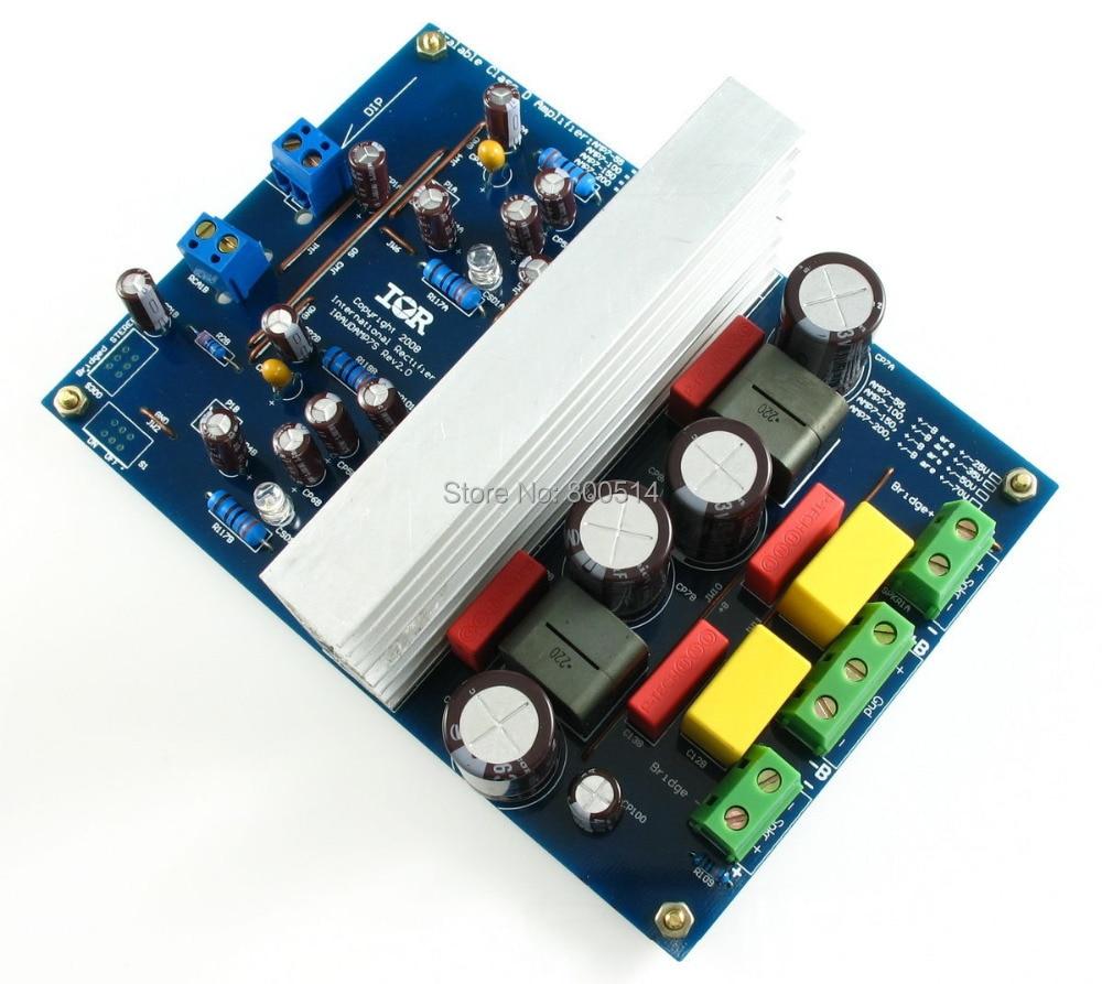 L15D-X2 Top Class D Stero Amplifier Board IRS2092 IRAUDAMP7S 125W-500W