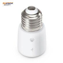 Terncy Zigbee inteligentna żarówka gniazdo TERNCY LS01 wsparcie Apple HomeKit (potrzeba pracy z bramą) do zdalnego sterowania oświetleniem