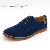 Men S Winter Suede Shoes Fashion Casual Shoes Oxford Leather Tendon End 38 48 Size