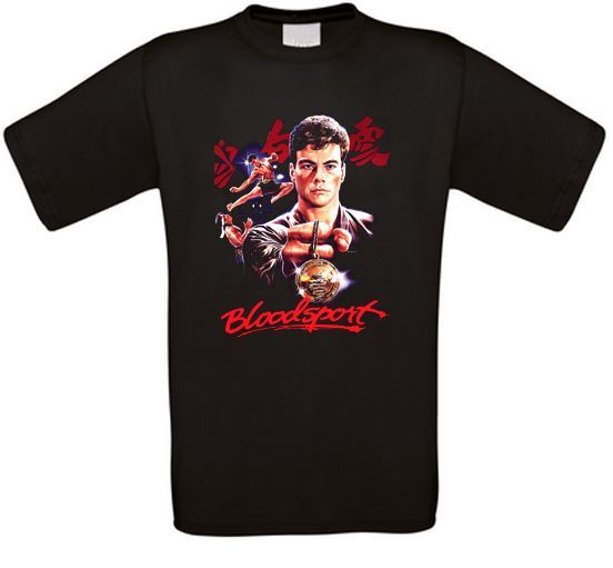 Bloodsport Martial Artser Cult Movie T Shirt All Sizes New