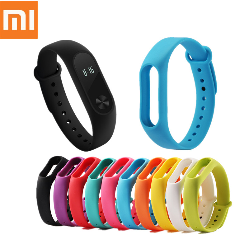 Silicone Strap For xiaomi Mi Band 2 Smart Bracelet Multiple Colorful Wrist Strap For Mi Band 2 Replace Accessories For Wristband strap for xiaomi mi band 2 bracelet for xiaomi mi band 2 silicone wrist for mi band 2 smart accessories wristband replacement