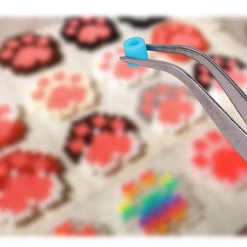 Klip dla 2 6mm Hama koraliki 3D Puzzle 5mm Perler koraliki narzędzia koraliki do biżuterii akcesoria dla bezpiecznik koraliki Perle de obsługi Hama tanie i dobre opinie Spersonalizowane układanki Unisex Don t eat 6 lat HM021 BTEFKR cartoon