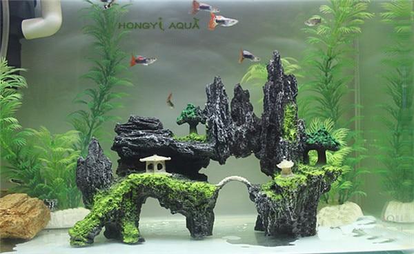 1 шт., полимерная основа для аквариума, большой/маленький размер