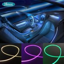 Maykit приборной панели боковой излучающий волоконно-оптический светильник ing автомобильный волоконно-оптический мини 1,5 Вт Cree светодиодный светильник двигатель и Rf пульт дистанционного управления