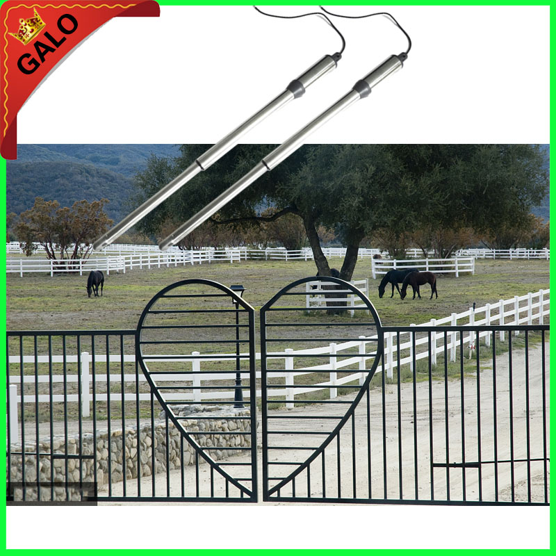 GALO Swing Gate Opener Enter car/Electrical gate motors linear actuator used in the ranch Metal wood Butterfly door the ivory white european super suction wall mounted gate unique smoke door