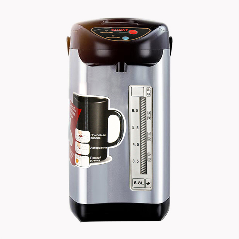 Household electric kettle 6. 8 liter thermos anti-dry Electric Kettle 750 watt цена и фото