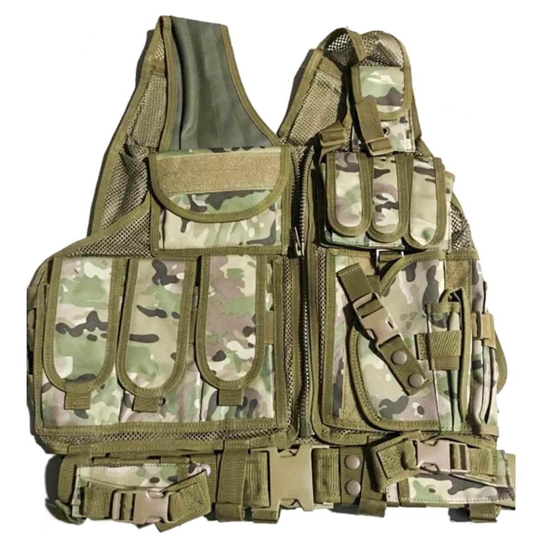 Extérieur Tactiques Accessoires Molle Multi-fonction Combiné Tactique Protecteur pour Nerf Défense Jouet Pistolet Modifié Accessoires