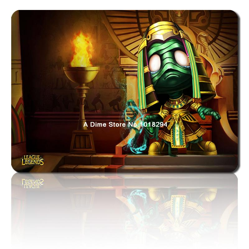lol mouse pad Pharaoh Amumu mousepad laptop Legends mouse pad gear notbook  computer gaming mouse pad gamer play mats-in Mouse Pads from Computer &  Office on ...
