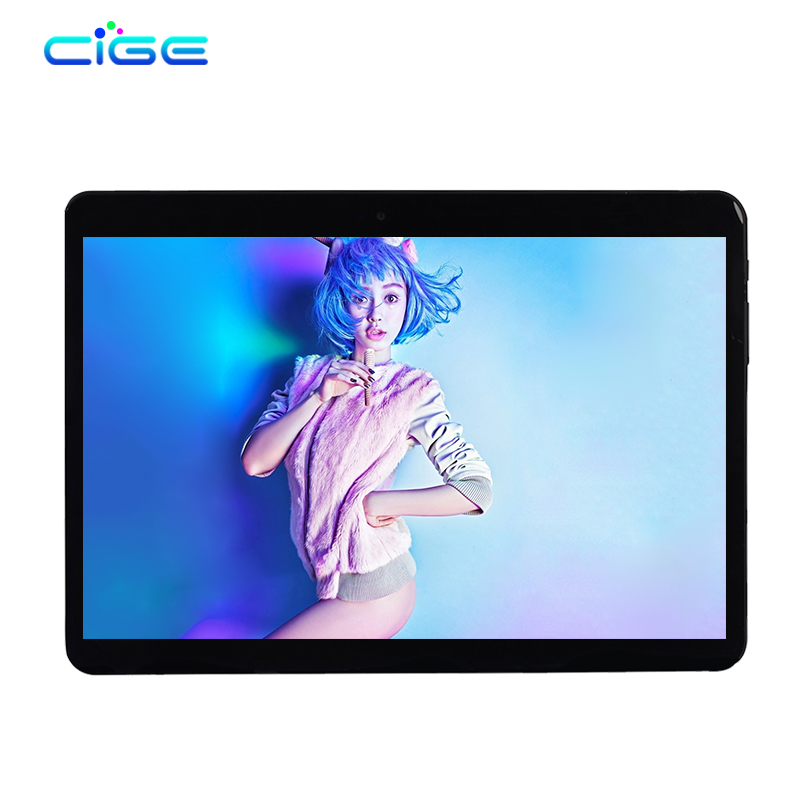 CIGE 10.1 Inch Original Tablet PC 4G LTE Phone Call Octa Core 4GB RAM 64GB ROM Android 6.0 WiFi FM Bluetooth Tablets Pc SIM tablet pc octa core 8 inch double sim card t8 4g lte phone mobile metal android tablet pc ram 4gb rom 32gb 8mp ips wifi gps