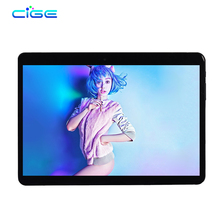 CIGE 10.1 Pulgadas Original Tablet PC Llamada de Teléfono 4G LTE Octa Core 4 GB RAM 64 GB ROM Android 6.0 WiFi FM Bluetooth Tabletas Pc SIM