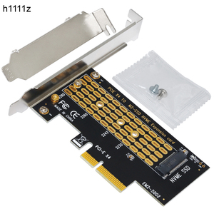 H1111Z Add On Cards PCIE to M2