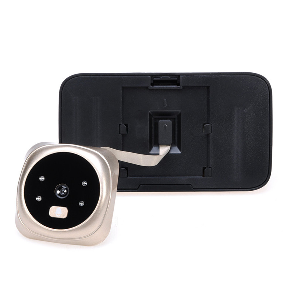 QA01 New 3.5 Inch Smart HD Home Security Camera Video Visual Electronic Cat Eye Doorbell