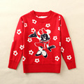 Winter Cartoon Baby Girls Sweater Kids Christmas Sweaters Kids Clothes Children Sweater Girls Cardigan Girls Jumper