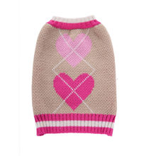 2018 New Heart Pattern Pet Clothes Sweater Autumn Winter Fashion Comfortable Pet Clothes Festival Knitwear Drop Shipping 71018&(China)