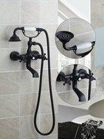 Ouboni Shower Set Torneira Unique Design Whith 7 Wall Mounted Bathroom Shower Faucet Set 50259 Mixer