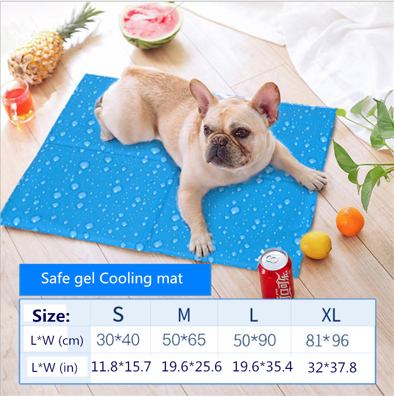 Dog Self Cooling Mat Pad for Kennels Crates and Beds Arf Pets