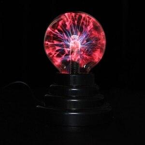 """Image 5 - 3 """"USB магический шар Электростатическая сферическая лампа хрустальная лампа настольная лампа Рождественский подарок для вечеринки"""