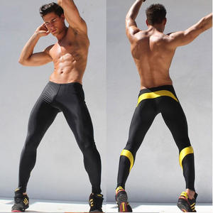hengsong Mens Fitness Elastic Jeans Pants Bottom Tights 35a71037b42