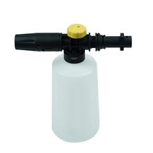 750ML myjka wysokociśnieniowa myjnia samochodowa Lance wody pistolet dla Karcher Karcher K2 K3 K4 K5 K6 K7 mydło Generator piany z regulowanym dysza opryskiwacza tanie tanio KKMOON Brak Myjni samochodowej Foam Lance 253 25g