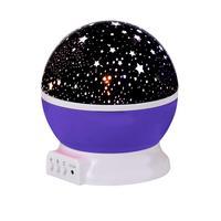 Rotating Sky Cosmos Star Night Romantic Projector Luminous Light Lamp Home Decor 89
