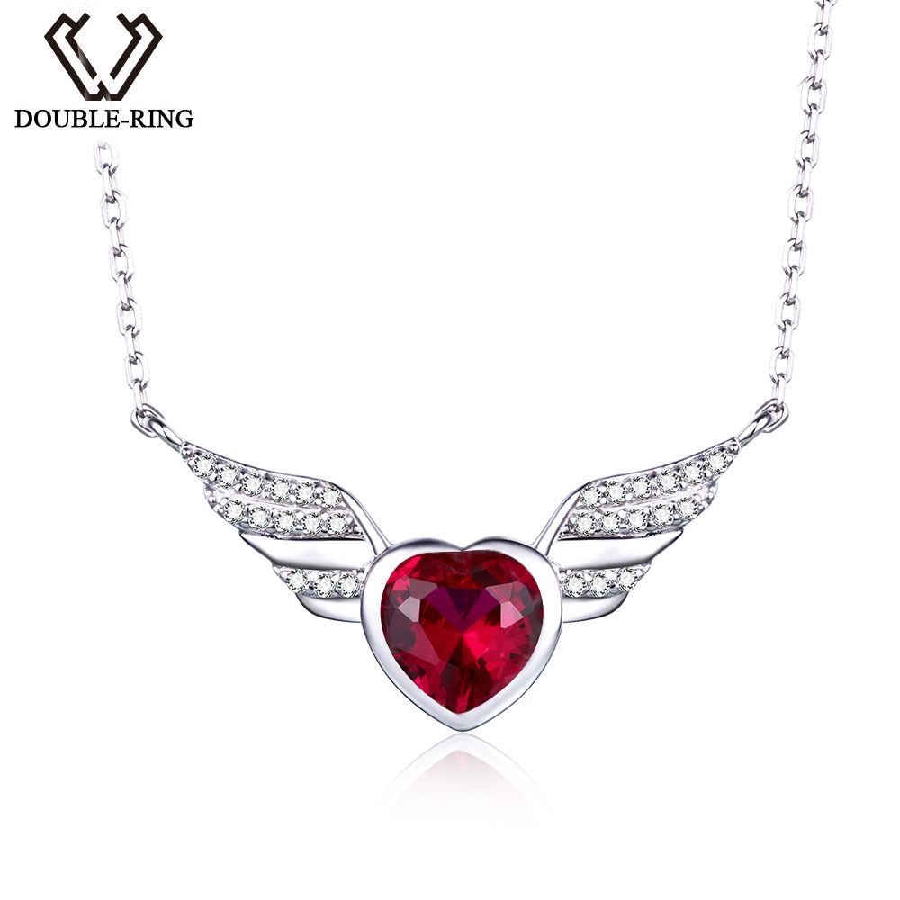 red swarovski john zoom ruby greed jewellery necklace breeze crystal women