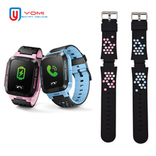 1 PCS Replacement Straps for Kids Smart Watch Rubber Straps Q528 Y19 Y21 Y12 T7 GPS Smart Watch Straps Smart Accessories