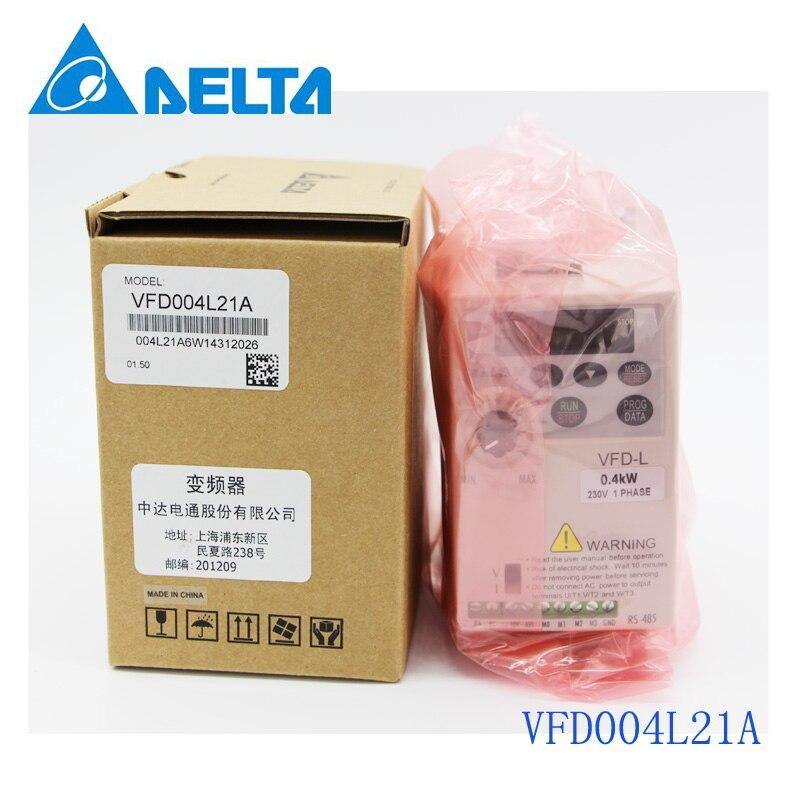 все цены на VFD004L21A DELTA VFD-L VFD Inverter Frequency converter 400W 0.5HP 1PHASE 230V 400hzfor small horsepower motors онлайн