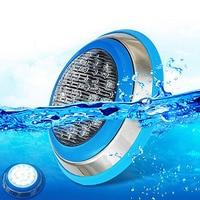 12 шт./лот 12 В 24 В светодио дный подводные огни Плавательный Бассейн 24 Вт CREE поверхностного монтажа чип IP68 для фонтана цвет переменчивый