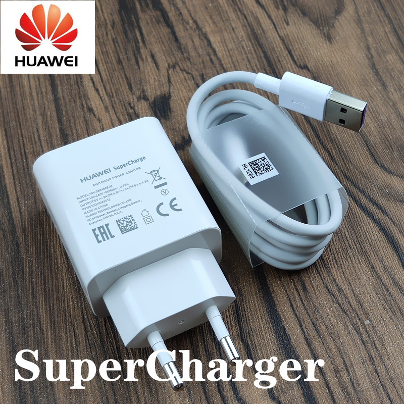 <font><b>Huawei</b></font> charger <font><b>supercharge</b></font> 5V4A Quick <font><b>adapter</b></font> Type C cable For Mate 9 10 20 Pro P20 Pro P10 plus P30 honor v10 image
