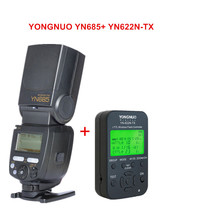YONGNUO YN685 YN685N (YN-568EX Upgraded Version) i-TTL Speedlite Flash + YN622N-TX Controller for Nikon DSLR Camera