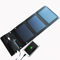 6W 5.2V energy flexible thin solar panels chargerrechargeable battery for moble solar power battery for Travel Charge