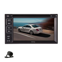Double DIN 2 Din 6 2 Inch In Deck Car Video CD Stereo Radio Car DVD