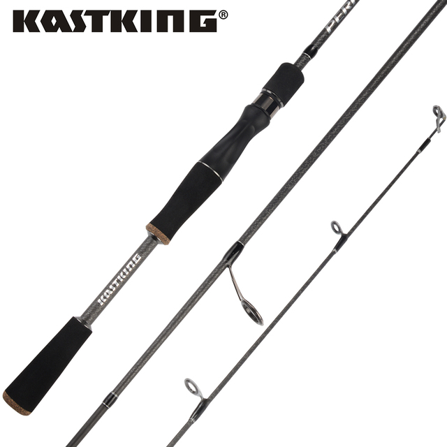 KastKing Perigee 1.98M/2.13M 2 Tip Spinning Baitcasting Fishing Rod MF & MH Actions 7-14g Lure Weight Casting Lure Fishing Rod