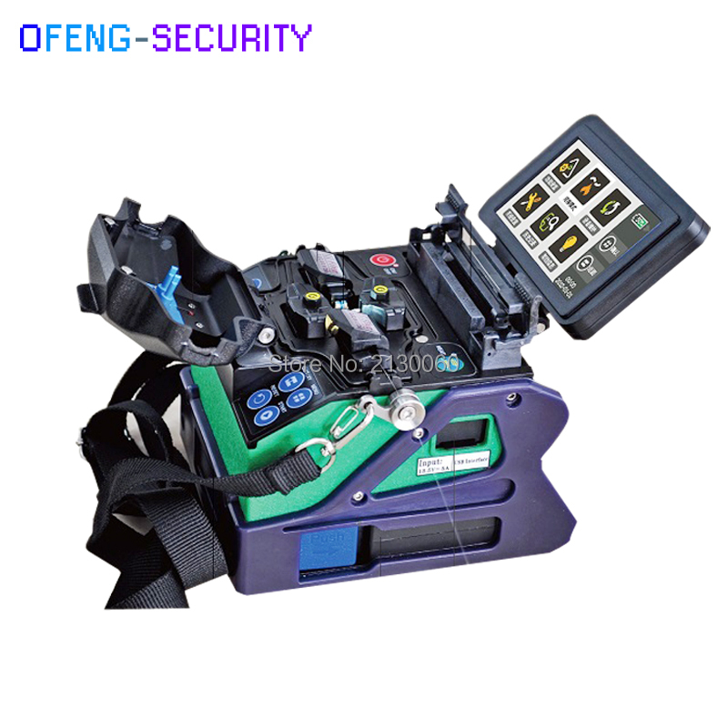 Eloik ALK-88A Fiber Optic Splicing Machine Maquina De Fusao De Fibra Fiber ARC Fusion Splicer Welding Machine, By DHL