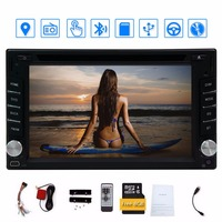 Double din Car Dvd Player Bluetooth Auto Radio Video Audio Stereo Multimedia 6.2'' car stylin Touch Screen GPS Navigation Player