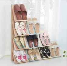 High-grade creative shoe rackStorage boxes with lid stacked shoe ark Upset Storage box accessories DIY multilayer