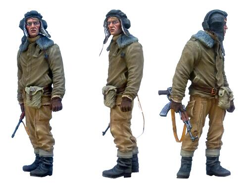 1/35 Resin Figure Modern Russian Tankman 1pc Model Kits